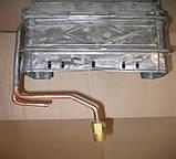 Теплообменник 240/ 85/ 160 мм - кожух (б.ф.у, Китай) колонок газовых версия турбированная, к.з. 0270/3., фото 2