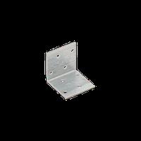 Уголок монтажный равносторонний KM 1 (40 мм х 40 мм х 40 мм х 2 мм) Domax Польша строительный крепеж, фото 1