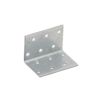 Уголок монтажный равносторонний KM 2 (40 мм х 40 мм 60 мм х 2 мм) Domax, фото 1