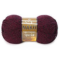 Пряжа Nako Superlambs Special 21283 Полушерстяная для Ручного Вязания