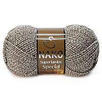 Пряжа Nako Superlambs Special 21264 Полушерстяная для Ручного Вязания