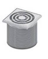 Декоративная решетка 100 мм в пластиковой рамке с монтажным элементом TECEdrainpoint S TECE