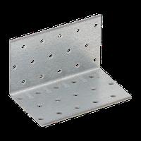 Уголок монтажный равносторонний KM 6 (60мм х 60 мм х 100 мм х 2 мм) Domax Польша строительный крепеж, фото 1
