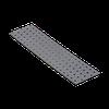 Перфорированная пластина PP 16 (400 мм х 100 мм х 2 мм) Domax Польша строительный крепеж