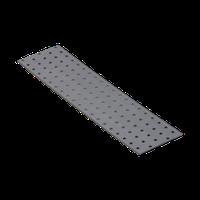 Перфорированная пластина PP 16 (400 мм х 100 мм х 2 мм) Domax Польша строительный крепеж, фото 1