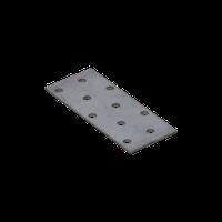 Перфорированная пластина PP 2 (100 мм х 40 мм х 2 мм) Domax Польша строительный крепеж