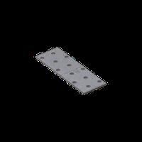 Перфорированная пластина PP 3 (120 мм х 40 мм х 2 мм) Domax Польша строительный крепеж