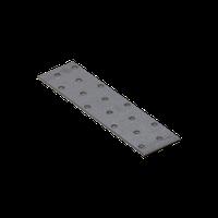 Перфорированная пластина PP 4 (160 мм х 40 мм х 2 мм) Domax Польша строительный крепеж