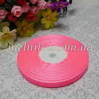 Лента из органзы, 0,6 см, розовая