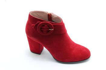 Червоні демісезонні черевики Battine B0470