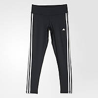 Женские леггинсы adidas basic 3-stripes (Артикул: AJ9366)