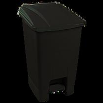 Бак для мусора с педалью Planet 50 л черный