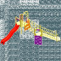 Игровой комплекс для детей «Мост»