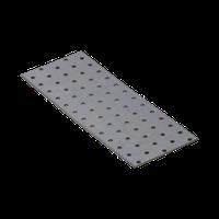 Перфорированная пластина PP 14 (260 мм х 100 мм х 2 мм) Domax Польша строительный крепеж, фото 1