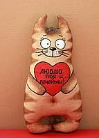 Кофейный кот с валентинкой (с запахом кофе, корицы и ванили)