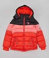 Зимние курточки U. S. Polo Assn для девочек , размер 7-8, 10-12, 14-16