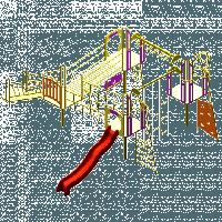 Игровой комплекс «Четыре входа»