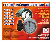 Ключ динамометрический (моментный) МТ-1-60