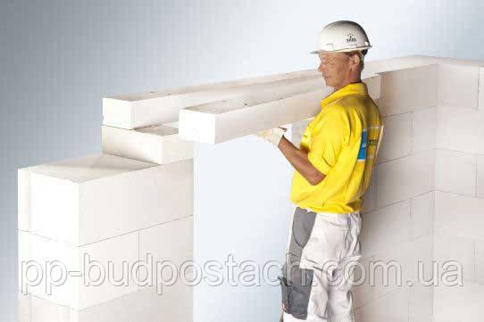 Перемички Аeroc для вирішення конструктивних завдань при будівництві будинків і будівель