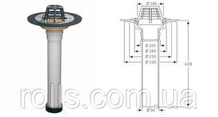 Ремонтная воронка SitaSani 90 Spezial для труб DN110 c фланцем и уплотнительным манжетом