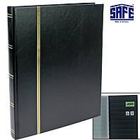 УЦІНКА!!! Альбом для марок SAFE - 32 сторінки - А4 - чорні сторінки