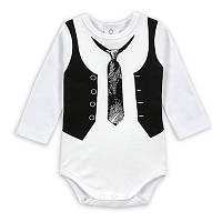 Боди для мальчика с галстуком 68262 Китай