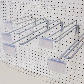 Стелажне обладнання (гачки, цінники на гачок)
