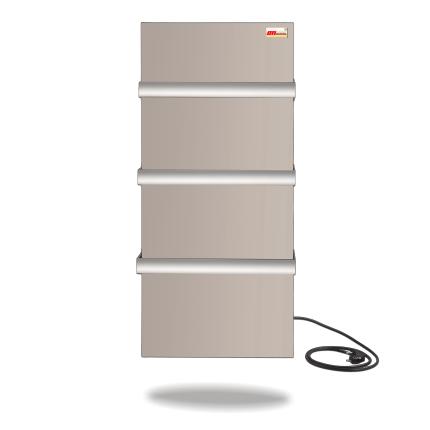 DIMOL Standart 07 полотенцесушитель электрический 370 Вт (кремовый/белый) , фото 2