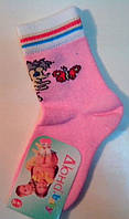 Носки детские демисезонные розового цвета, р.14-16, фото 1