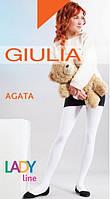 Хлопковые однотонные колготы для девочек Agata 150