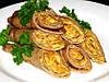 Картофельные блинчики с ветчиной и сыром