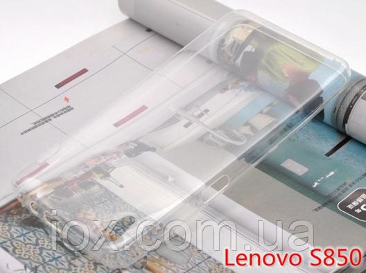 Прозрачный силиконовый чехол для Lenovo S850
