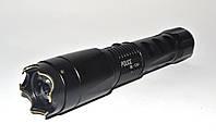 Электрошокер BL-1201 Police, стеклобой, ударопрочный корпус, съемный аккумулятор 18650, две зарядки