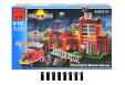 Конструктор Brick Пожарная часть 910  X00024904