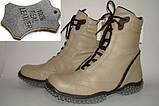 Ботинки женские кожаные Испания, фото 2