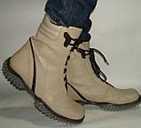 Ботинки женские кожаные Испания, фото 4