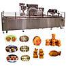 Автоматическая линия формования и выпечки кондитерских бисквитных изделий с начинкой типа мишки Барни TAWC-26
