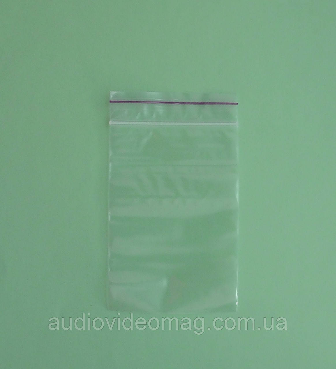 Зип-пакет со струнным замком Zip-lock, размер 7 х 10 см., упаковка 100 шт.