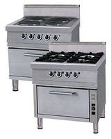 Плита электрическая с духовкой OKFG 8075 P Ozti