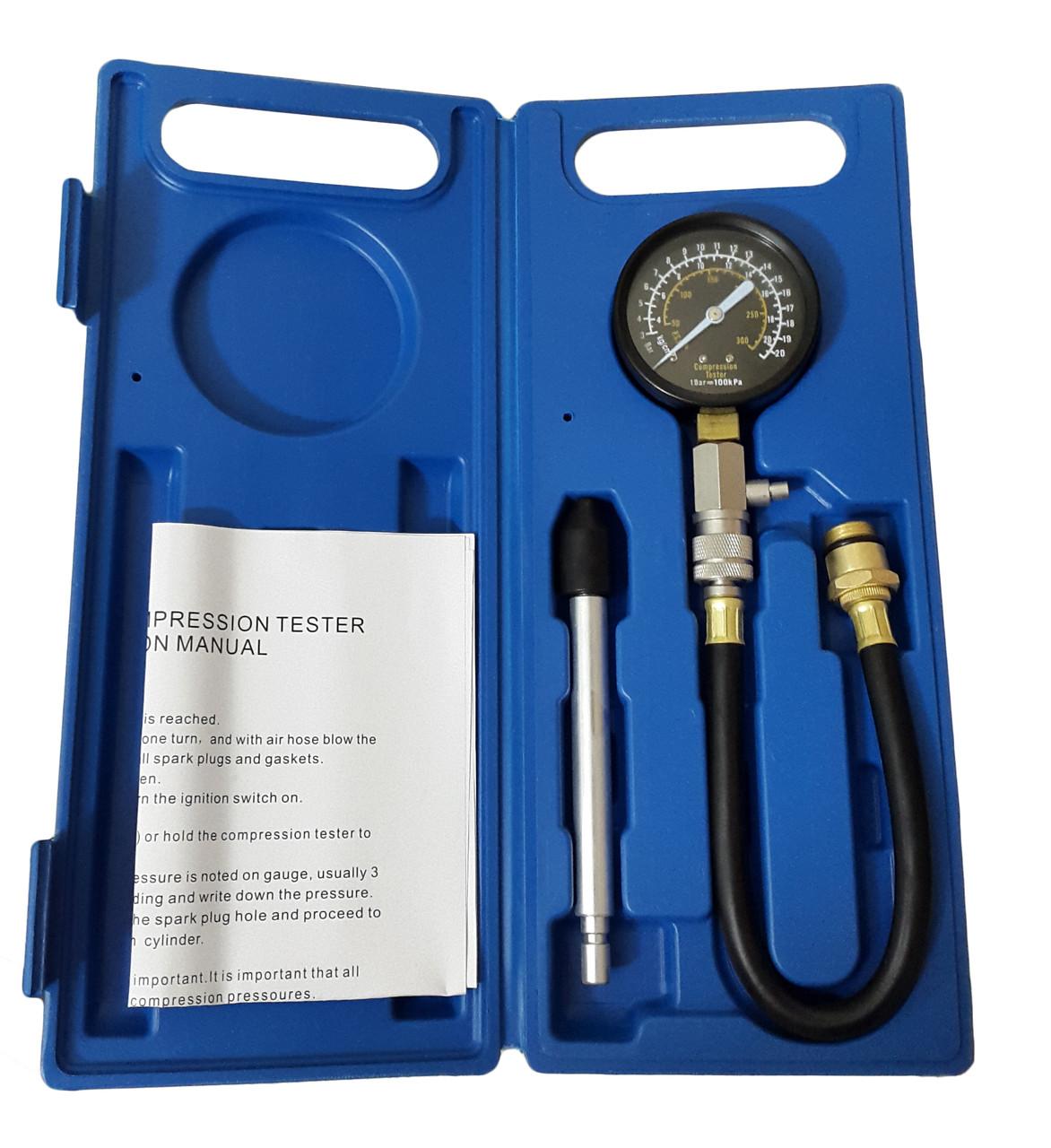 Компрессометр для бензиновых двигателей профессиональный