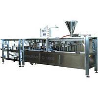 Автомат фасовочно-упаковочный для жидких и пастообразных продуктов D-1000