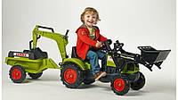 Детский трактор на педалях Falk 2040N CLAAS Arion 410