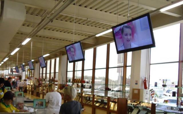 """Видео-реклама в супермаркетах Одессы """"Таврия-В"""""""