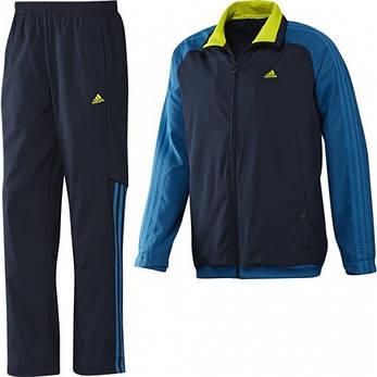 Спортивный костюм adidas 365 TRACKSUIT WOVEN OPEN HEM, фото 2