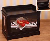 """Тумба для обуви """"Пианино"""""""
