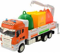 Инерционный грузовик Na-Na со световыми и звуковыми эффектами IM304/GR