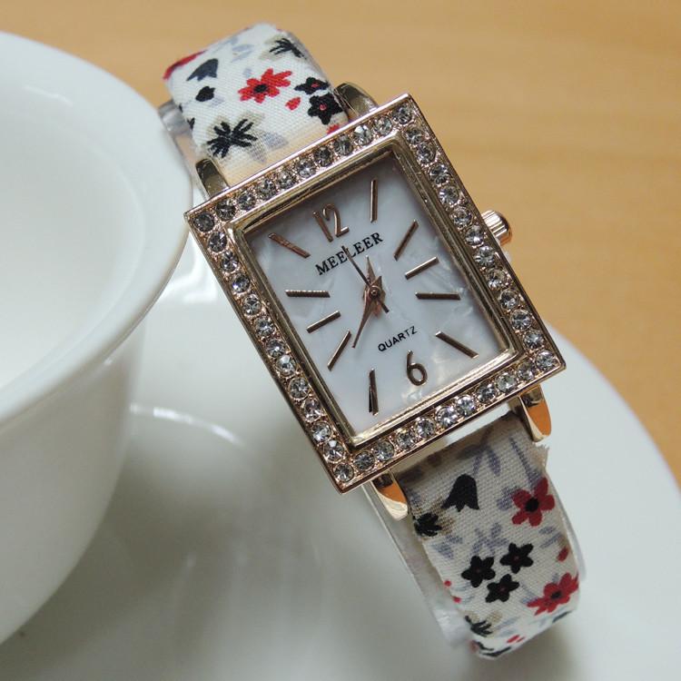 Женские наручные кварцевые часы Paris fiori pastell