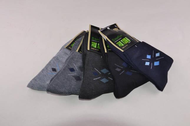 Мужские носки Бамбук с рисунком (A318) | 12 пар, фото 2