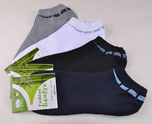Мужские носки заниженные Fashion Бамбук (A355) | 12 пар, фото 2