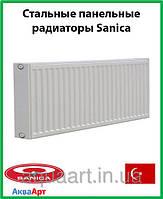 Стальной радиатор Sanica 22k 300*800 б.п.
